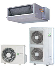 Inverter ducted air conditioner image