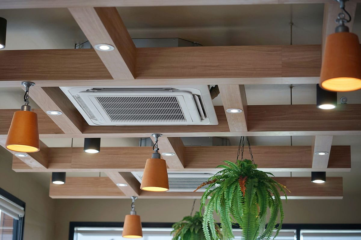 Ducted air conditioning inner west