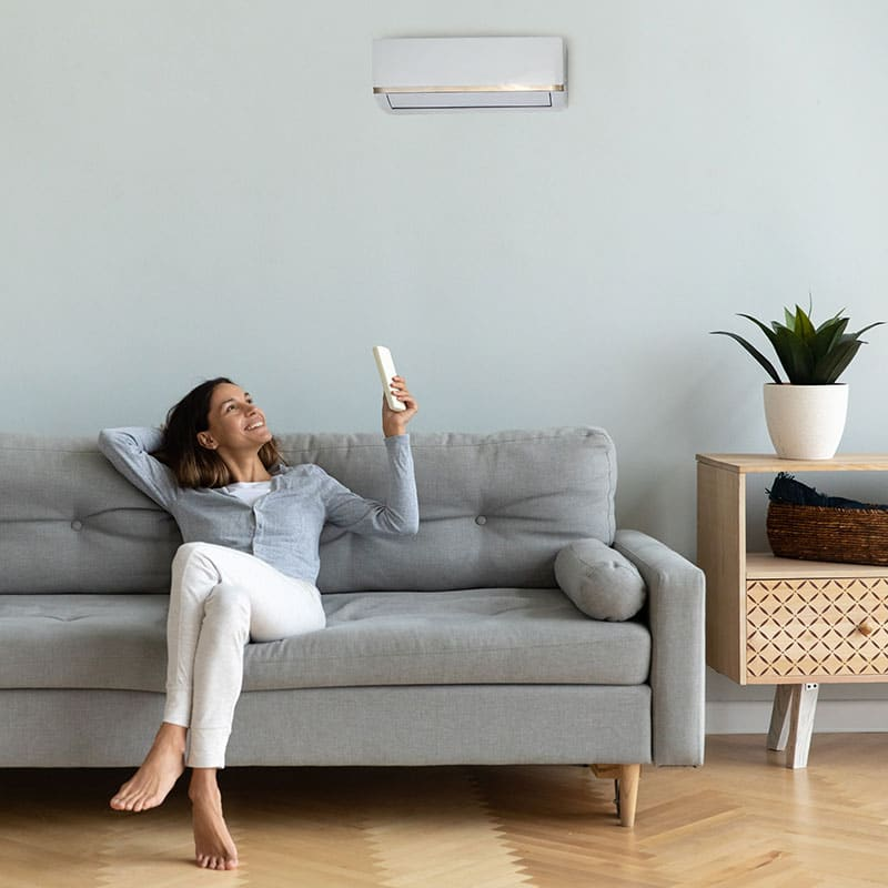 Inverter air conditioning The Shire