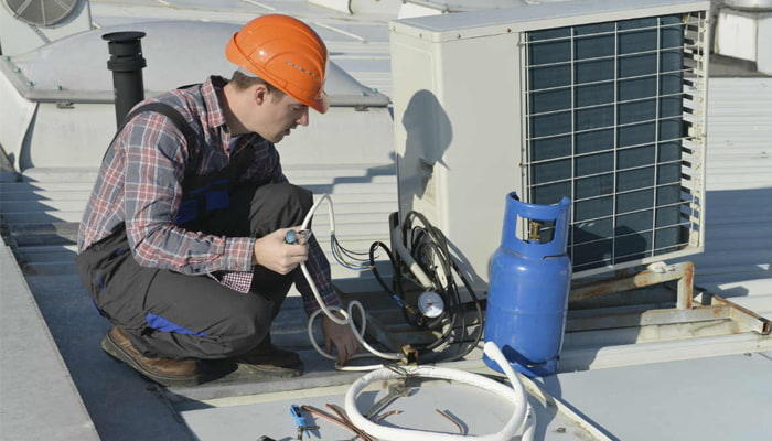 Split system air conditioning Campbelltown